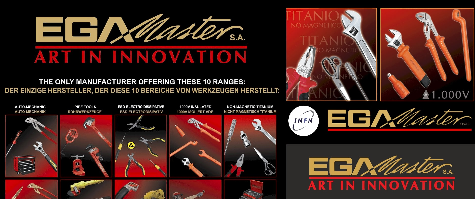 Egamaster hand tool suppliers